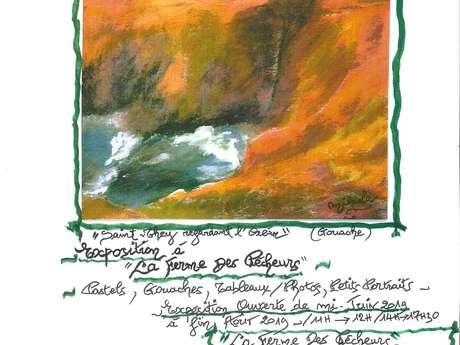 """Exposition à """"La Ferme des Pêcheurs"""" par Mikaela Mathis"""