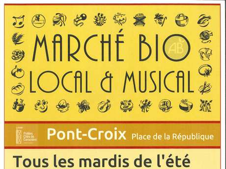 Marché Bio, Local & Musical - Concerts Dan ar Jazz, Frog on the Tyne