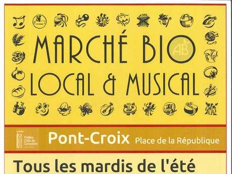 Marché Bio, Local & Musical - Concert Les papillons noirs