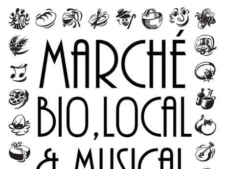 Marché Bio, Local & Musical - Concert de Gravette