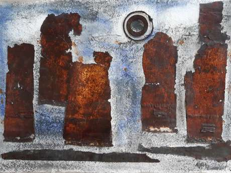 Exposition d'Anne-Marie et Yvon Ollivier-Henri - Art'Ria