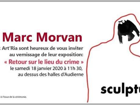 Vernissage de l'exposition de Marc Morvan - Art'Ria