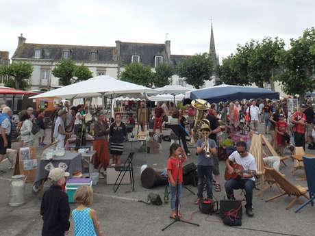 Marché Bio Local et Musical