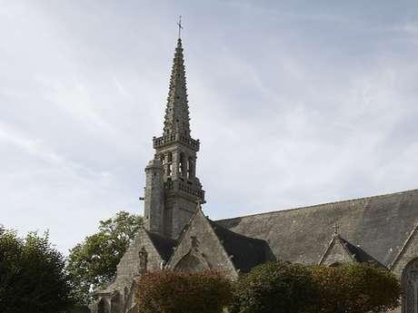 Ouverture et visite de l'église Notre Dame de Toutes Grâces du Juch
