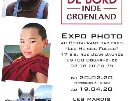 "Exposition Photo ""Carnets de Bord Inde et Groenland"" (Annulé)"