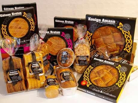 Biscuiterie  du kouign Amann du Pays de Douarnenez