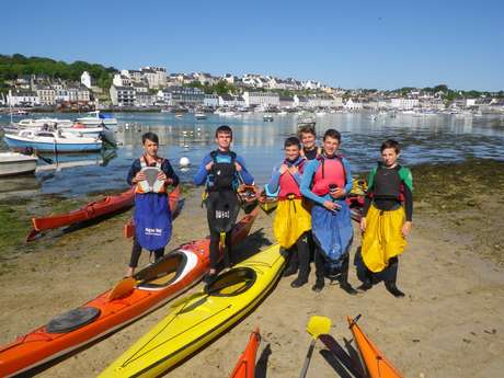 Stage d'initiation au kayak et stand up paddle