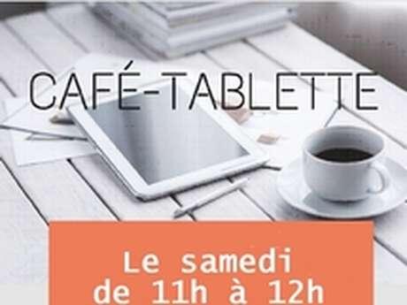 MÉDIATHÈQUE SAINT-EXUPÉRY : CAFE TABLETTE DU SAMEDI