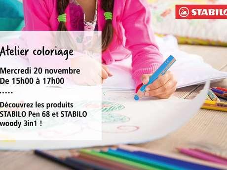 Atelier coloriage