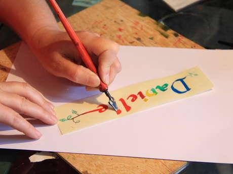 Découvertes Métiers : Peintre, calligraphe et céramiste