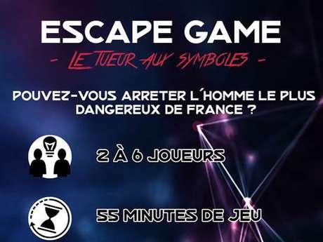 """ESCAPE GAME """"Le tueur aux symboles"""""""