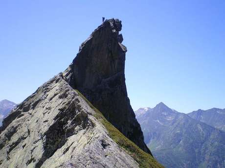 foot race of the Dent d'Orlu