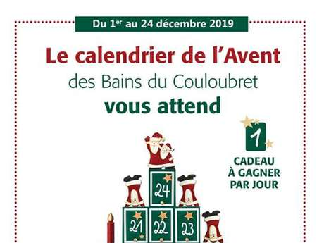 The Advent calendar of the Couloubret baths