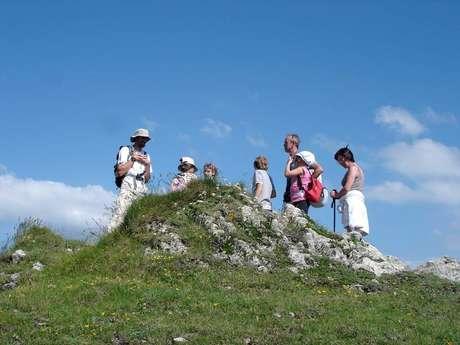 """Senderismo con la """"Bureau des Guides"""" (La oficina de guía de montaña)"""