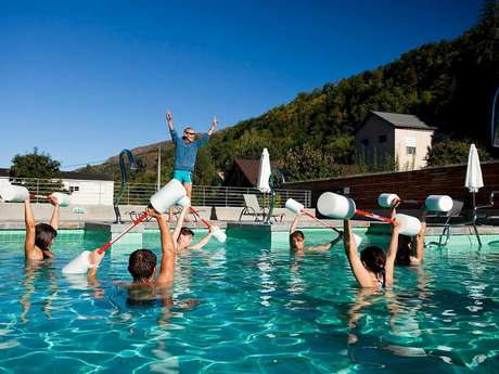 Aquagym at the Bains du Couloubret