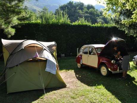 Camping at The Farm Vallée de Beille