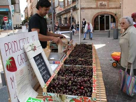 Organic producers market