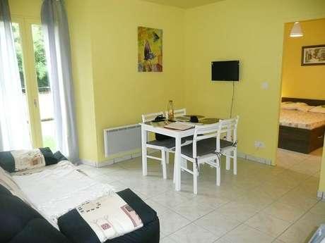 Appartement 4 pers à Ornolac-Ussat-Les-Bains