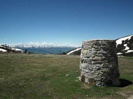 zona de recepción y sendero interpretativo de Pailhères