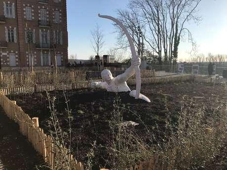 Sculptures in town
