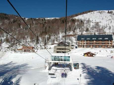 Alquiler de esquís - estación de esquí de Ascou