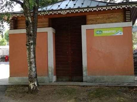 Toilettes publiques - Parc du Casino
