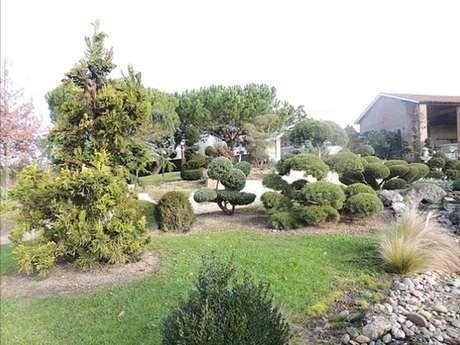 """Garden """"Jardin de Laroque"""""""