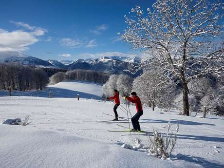 Cross-Country Skiing at the Nordic Area of Chioula