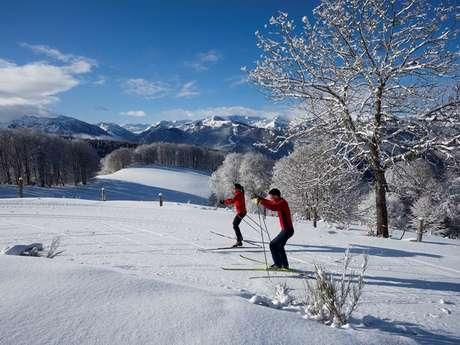 Ski nordique à l'espace nordique du Chioula