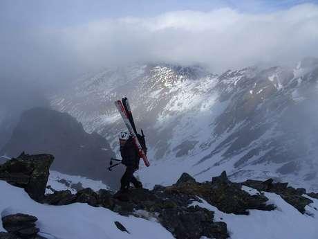 Ski avec le Bureau des Guides des Pyrénées Ariègeoises