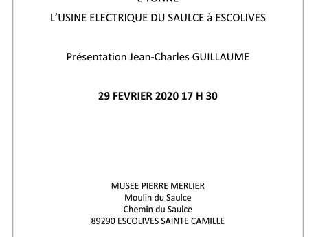 Les premiers pas de l'électricité dans l'Yonne