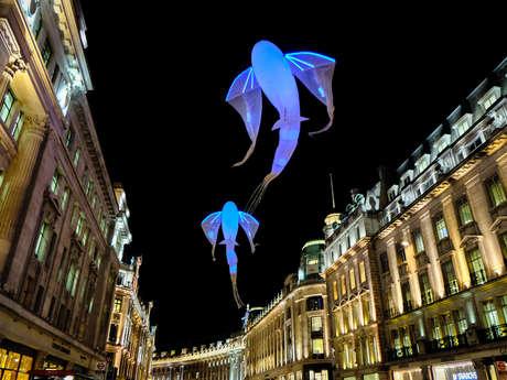 Parade 3 luminéoles - Compagnie Porté par le vent