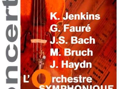 Concert de l'orchestre symphonique de la CUCM