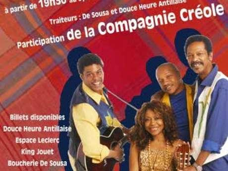 Dîner-spectacle la Compagnie Créole