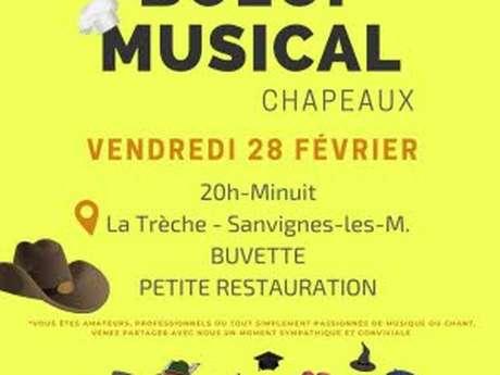 """Boeuf musical """"chapeaux"""""""