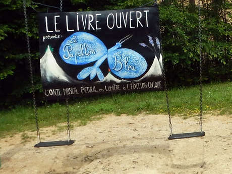 Conte Musical - Le papillon bleu