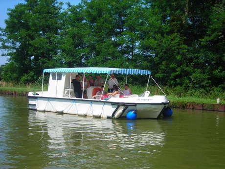 Les Canalous (location de bateaux à la journée)