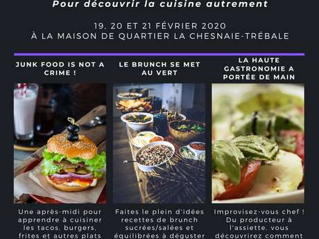 Stage cuisine 15/25 ans