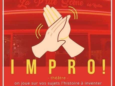 Théâtre d'improvisation avec la Troupanou