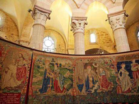 Les Tapisseries de la Vierge - visite guidée