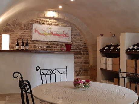 Caveau de dégustation du Domaine Loubet-Dewailly