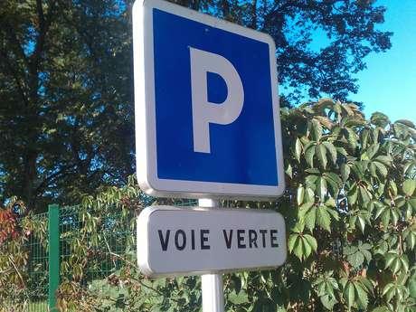 Parking de la Voie Verte