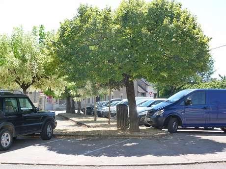 Parking de la place de l'Europe