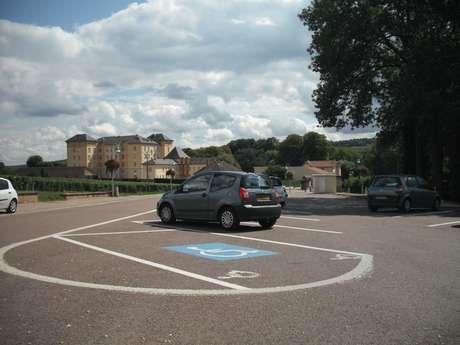 Parking Rue des Sources