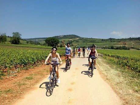 Les vignobles en vélo de Beaune à Mâcon