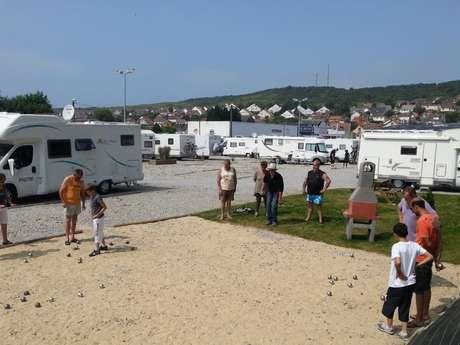 Aire de camping-car de Mers-les-Bains
