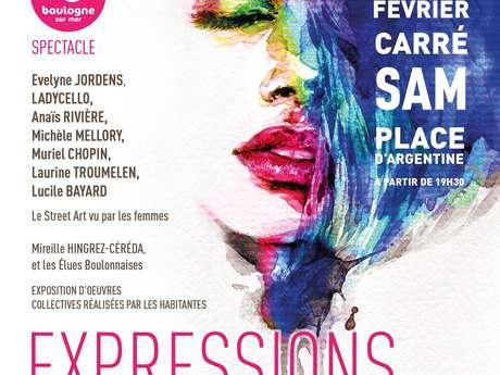 JOURNÉE DES DROITS DES FEMMES - EXPRESSIONS FÉMININES