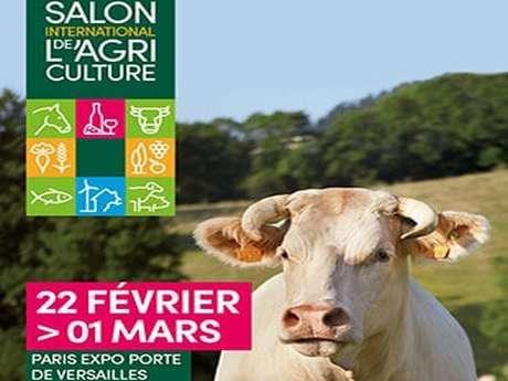 DÉPLACEMENT AU SALON DE L'AGRICULTURE