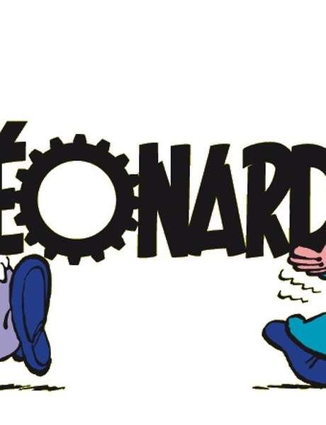 """Exposition """"Léonard"""" à la Maison de la BD"""