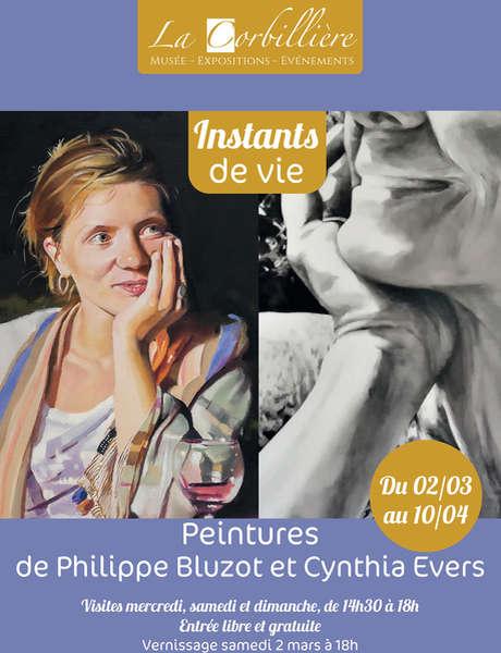 Exposition Instants de vie - Peintures